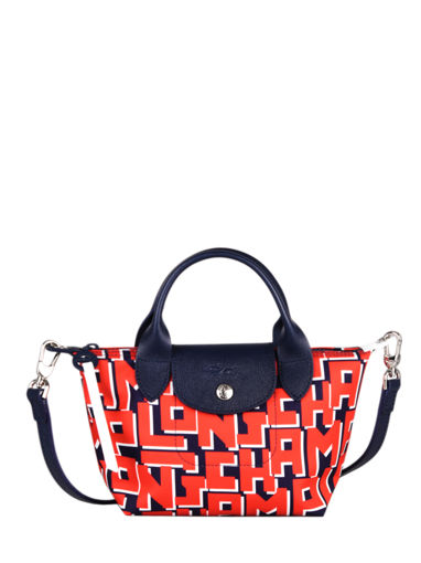 Longchamp Rodeo Handbag Red