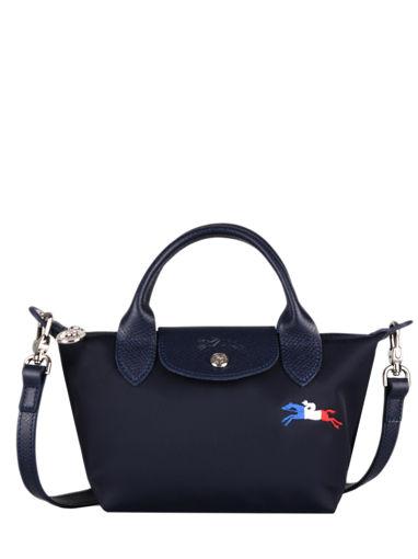 Longchamp Le pliage trÈs paris Handbag Blue