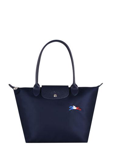 Longchamp Le pliage trÈs paris Hobo bag Blue
