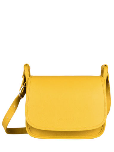 Longchamp Le foulonné Messenger bag Yellow