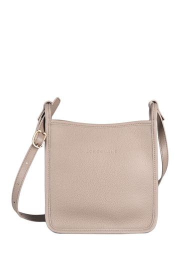 Longchamp Le foulonné Messenger bag Gray