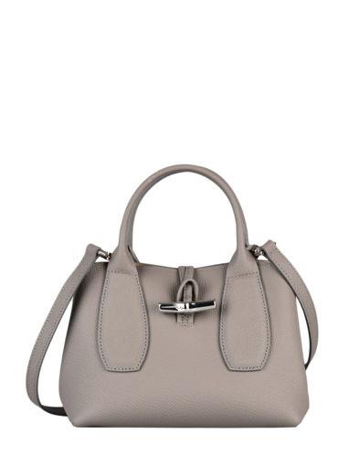 Longchamp Roseau Handbag Gray
