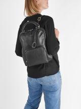 Backpack Etrier Black tradition EHER37-vue-porte
