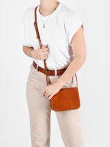 Tempo Leather Crossbody Bag Milano Brown tempo TE18061-vue-porte