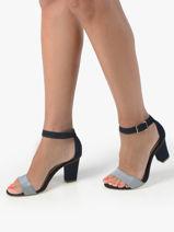 Sandales à talon en cuir-TAMARIS-vue-porte