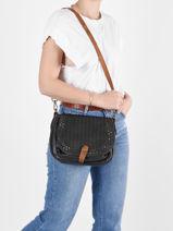 Shoulder Bag Authentic Torrow Black authentic TAUT05-vue-porte