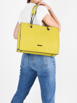 Shopper A4 Format Gallantry Yellow format a4 1-vue-porte