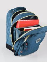 Sac à Dos Class Room 2 Compartiments Kipling Bleu back to school / pbg PBGI4053-vue-porte