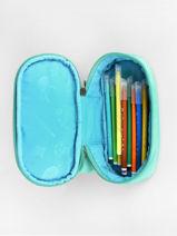 Trousse 1 Compartiment Pencil Case Affenzahn Vert pencil case PEN1-vue-porte