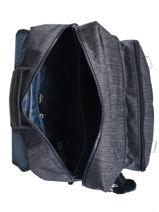 Satchel 2 Compartments Kipling Blue back to school 21092-vue-porte