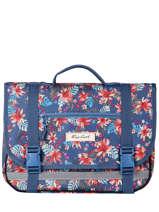 Satchel 1 Compartment Rip curl Blue havana floral LBPQE1HF