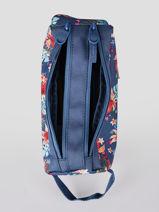 Trousse 2 Compartiments Rip curl Bleu havana floral LUTLD1HF-vue-porte