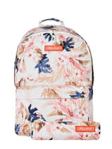 Backpack With Matching Pencil Case Rip curl Pink sunset waves LBPPZ1SW