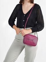 Sac Bandoulière Denim Calvin klein jeans denim K607202-vue-porte
