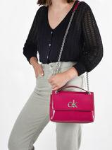 Shoulder Bag Sportswear Calvin klein jeans sportswear K608317-vue-porte
