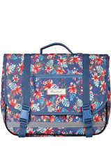 Satchel 2 Compartments Rip curl Blue havana floral LBPQF1HF