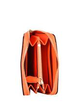 Purse Leather Lauren ralph lauren Orange dryden 32824898-vue-porte