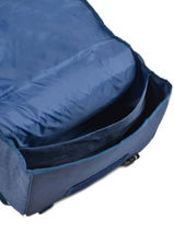 Satchel 2 Compartments  Allez les bleus Blue world cup ALB12309-vue-porte