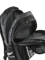 Backpack 2 Compartments All blacks Black we are 173A204I-vue-porte