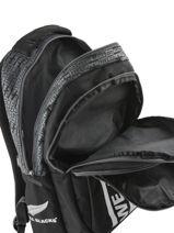 Sac à Dos 2 Compartiments All blacks Noir we are 173A204I-vue-porte