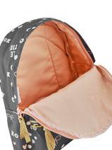 Backpack Kidzroom Gray fearless 30-9409-vue-porte