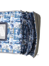 Satchel 2 Compartments Ikks Yellow backpacker in tokyo 20-38836-vue-porte
