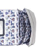 Satchel 2 Compartments Ikks Gray kings 20-38838-vue-porte