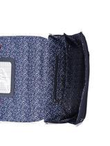 Satchel 2 Compartments Ikks Blue i love my mariniere 41821-vue-porte