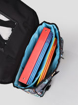 Wheeled Schoolbag 2 Compartments Rip curl Black surfboard collection BBPCH3SC-vue-porte