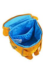Backpack Affenzahn Brown small friends AFZ-FAS4-vue-porte