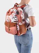 Backpack Carribean 1 Compartment Roxy back to school RJBP4170-vue-porte