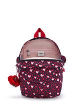 Mini Backpack Kipling Pink back to school 253-vue-porte