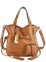 Medium Bucket Bag Premier Flirt Lancel Brown premier flirt A10110