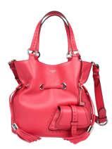 Medium Bucket Bag Premier Flirt Lancel Pink premier flirt A10110
