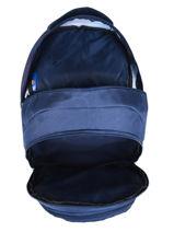 Backpack 2 Compartments Fc barcelone Blue fc barcelona BARCELON-vue-porte
