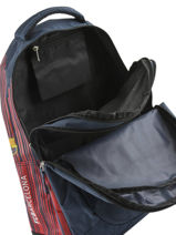 Backpack 2 Compartments Fc barcelone Blue barca 183F204S-vue-porte