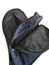 Backpack 2 Compartments Fc barcelone Blue blason 183F204D-vue-porte