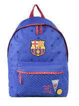 Backpack 1 Compartment Fc barcelone Blue we are 490-8119