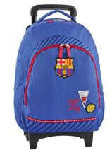 Wheeled Backpack Fc barcelone Green we are 490-8798