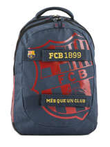 Backpack 2 Compartments Fc barcelone Blue barca 183F204S