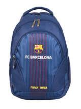 Backpack 2 Compartments Fc barcelone Blue fc barcelona BARCELON