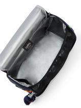 Lunch Bag 1 Compartment Kipling Blue back to school 15289-vue-porte