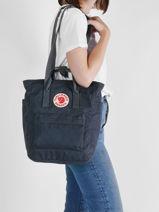 Backpack Kanken Totepack N°1 Fjallraven Blue kanken 23710-vue-porte