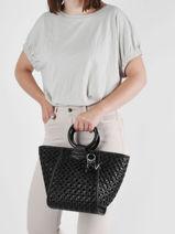 K/basket Top-handle Bag Karl lagerfeld Black k basket 215W3004-vue-porte