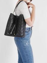 Shoulder Bag Dryden Leather Lauren ralph lauren Black dryden 31818854-vue-porte