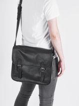 Crossbody Bag Paul marius Brown vintage M-vue-porte