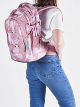 Backpack 2 Compartments Satch satch SIN-vue-porte