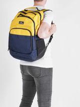 Backpack 2 Compartments Quiksilver Black accessories QYBP3109-vue-porte