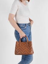 Top Handle Dryden Leather Lauren ralph lauren Brown dryden 31824872-vue-porte