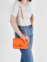 Shoulder Bag Elmswood Leather Lauren ralph lauren Orange elmswood 31829877-vue-porte